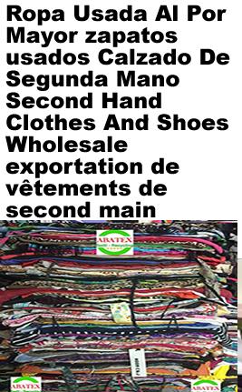 empresa ropa usada